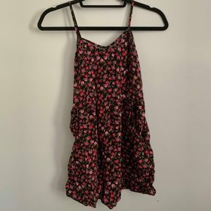 Floral Xhilaration Romper from Target with Pockets